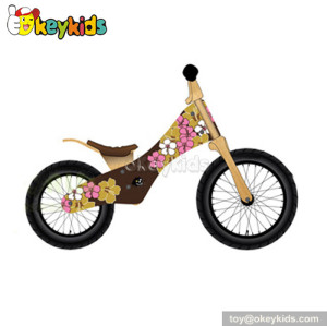 Wholesale cheap children wooden balance bike for sale W16C085