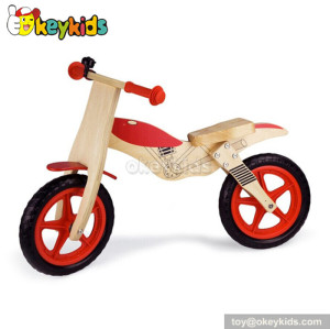 Wholesale cheap balance wooden bicycle for kids W16C092