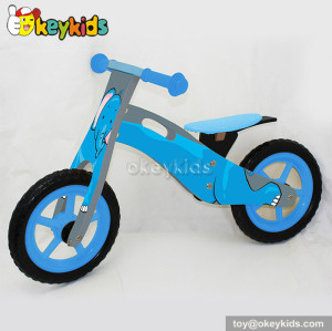 Wholesale cheap wooden mini bicycle toys for kids W16C123