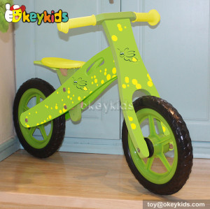 Wholesale cheap wooden children balance bicycle for sale W16C127