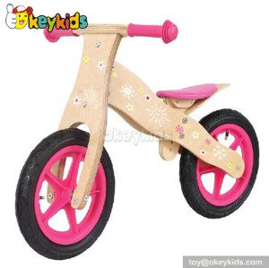 Wholesale cheap wooden balance bike for kids W16C016