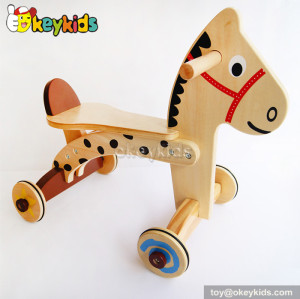 Top fashion 2 IN 1 wooden kids ride on toys for sale W16A015