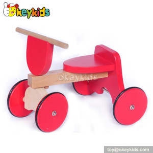 Top fashion 4 wheel wooden riding toys for toddlers W16A010