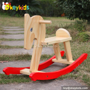 Okeykids Wooden toddler rocking horse for sale W16D058