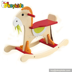 Funny toy baby wooden little tikes rocking horse for sale W16D026