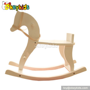 Best design charming wooden riding horse toy for sale W16D052