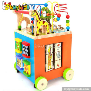 wholesale multi-function wooden baby walker price for sale W16E040