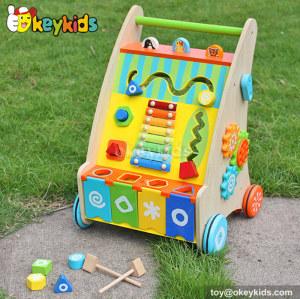 wholesale multi-function wooden walker toy for sale W16E039