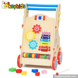 Stand learning wooden walker toy for babies W16E053