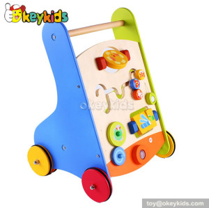 Stand learning baby wooden walker toy for sale W16E042