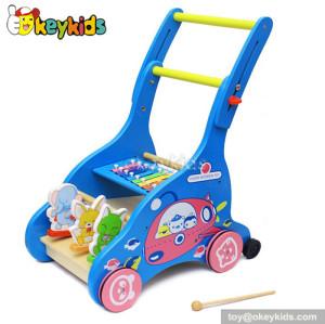 wholesale fashion baby wooden walker toy W16E023B