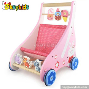 Educational wooden baby walking toys for sale W16E024A