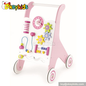 Lastest products multifunction wooden walker for babies W16E032
