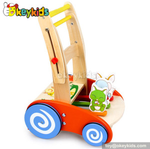 Lastest products multifunction baby wooden activity walkerW16E026