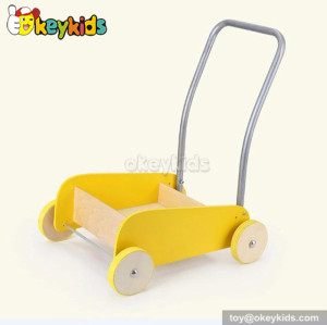 Wholesale cheap wooden baby walker with bricks W16E028B