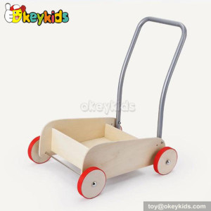 Wholesale cheap baby wood walker with blocks W16E028D