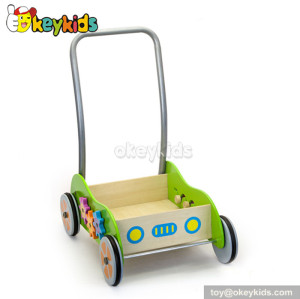 Wholesale cheap baby walker wooden toys for sale W16E001
