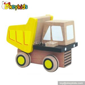 Handmade kids wooden toy dump trucks for sale W04A095