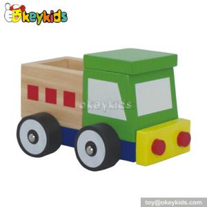Handmade kids wooden toy trucks W04A097