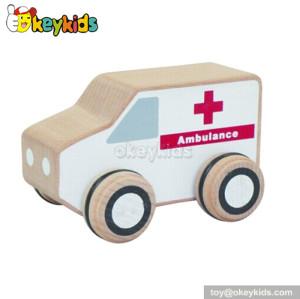 Top fashion wooden kids toy ambulances for sale W04A113