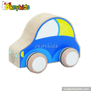 Wholesale cheap children wooden toy cars for sale W04A112