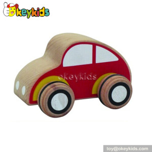 Wholesale cheap children wooden toy wheels for sale W04A117