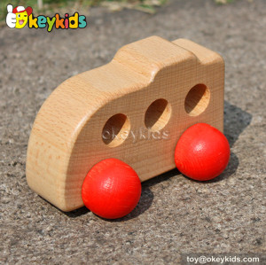 Top sale mini toy wooden car for kids W04A124