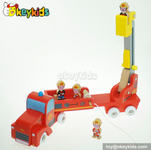 Top fashion children wooden engineering toy for sale W04A184