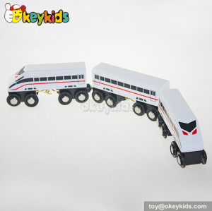 Wholesale fashion kids wooden train toy for sale W04A130