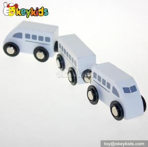 Wholesale fashion kids wooden toy train sets for sale W04A132