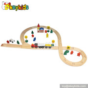 Best design mini wooden train set for toddlers W04C005
