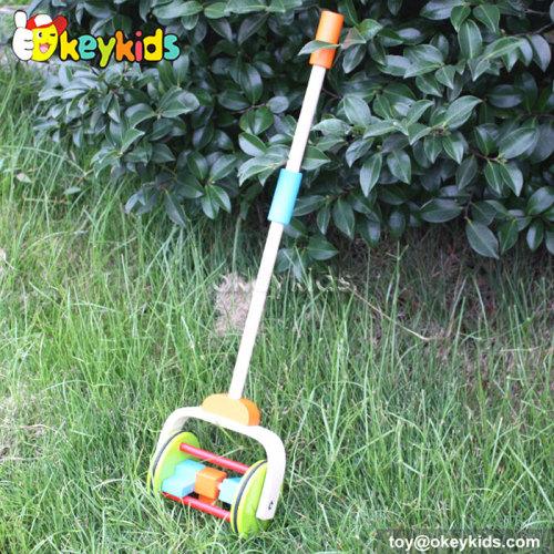 Preschool Walk baby wooden pull toys W05A010