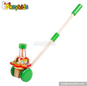 Preschool Walk baby wooden push toys W05A001
