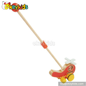Preschool baby wooden push pull toy for sale W05A018