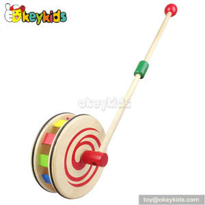 Wholesale high quality baby wooden pull toys W05A019