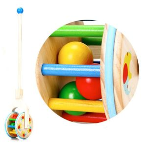 Best design baby wooden pull along toys for sale W05A017