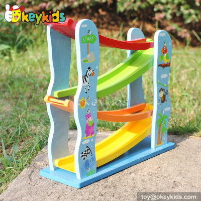 Okeykids Ramp racer educational wooden toys for toddlers W04E045