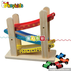 Mini pulley educational wooden toys for toddlers W04E001
