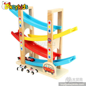 Top fashion ramp racer educational wooden toys for toddlers W04E009
