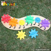 Best design stacking wooden educational toys for toddler W13D092