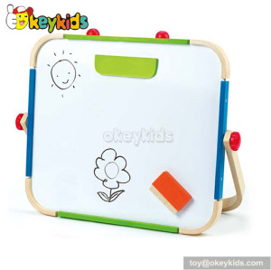 Best design double-sided educational wooden drawing toys for kids  W12B054