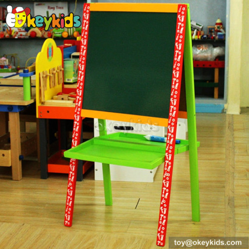 Best design double-sided educational children wooden drawing toys for 5 year olds W12B100
