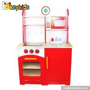 2016 Newest design children wooden play kitchen for sale W10C005