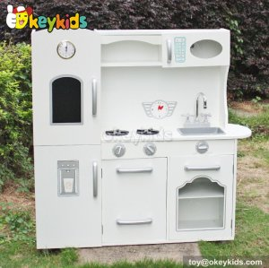 Okeykids Cooking play toy wooden children play kitchen for sale W10C214