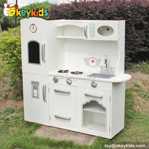 Okeykids Cooking play toy wooden children play kitchen for sale W10C214