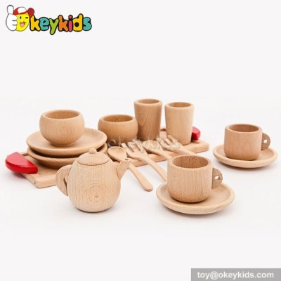 Role play toy kids wooden play kitchen accessories for sale W10C201