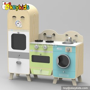 New design cooking play toy wooden kitchen toys for kids W10C242