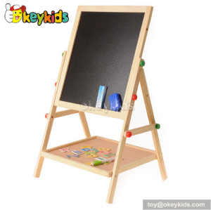 Interesting educational children wooden magnetic drawing board W12B062