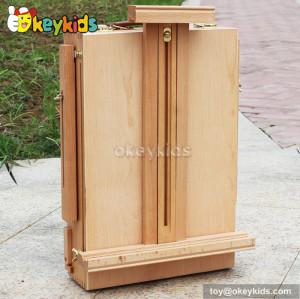 Best design  educational children wooden art easel W12B064