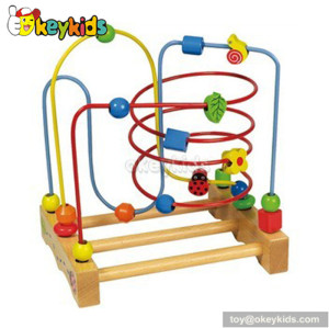 Best design educational toy wooden maze toys for toddlers W11B039